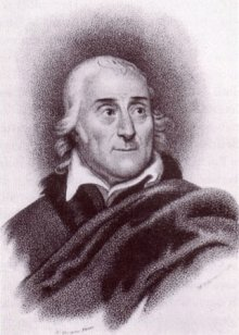 Michele Pekenino after Nathaniel Rogers: Portrait of Lorenzo da Ponte (1749–1838), engraving