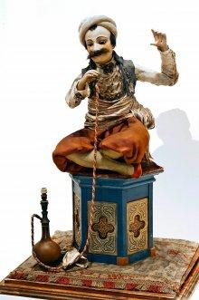 Musical automaton: Smoking oriental, 1822