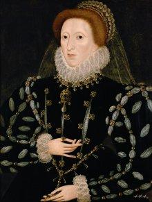 Nicholas Hilliard (zugeschrieben): Königin Elisabeth I. von England, nach 1575/80