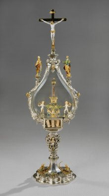 Ostensorium mit einem Dorn der Krone Christi, Ende des 16. Jahrhunderts