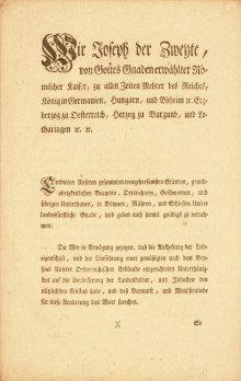 Patent zur Aufhebung der Leibeigenschaft (1)