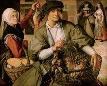 Pieter Aertsen: Market scene, 1560/65