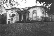 Villa Quinta de Monte, residence of the exiled imperial family on Madeira, photograph