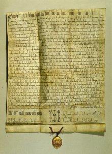 *Privilegium maius*, dated 1156, forgery from 1358/59