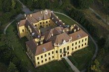 Schloss Eckartsau, Luftaufnahme