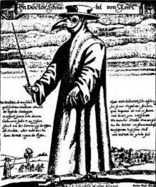 Beak doctor from Rome, c. 1650