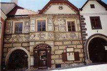 Sgraffito-Fassade in Mödling, Niederösterreich, 1563