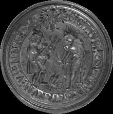 Seal of the Collegium Poetarum et Mathematicorum, 150