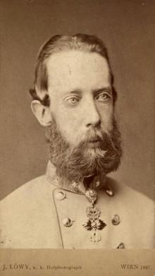 Archduke Ludwig Viktor in major-general's uniform, original photograph