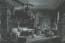 Wilhelm Gause: Crown Prince Rudolf's 'Turkish Room', c. 1885, gouache