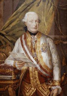 Wolfgang Köpp von Felsenthal: Kaiser Leopold II., Ende 18. Jahrhundert
