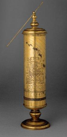 Zylinderförmige Sonnenuhr, 1548