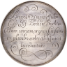 Commemorative medal made of lead, 'transmuted' by Johann Joachim Becher, 1675