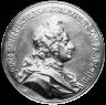 Benedikt Richter: Johann Bernhard Fischer von Erlach, portrait medal, 1719
