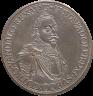 King Gustavus II Adolphus of Sweden, coin (obverse), 1632