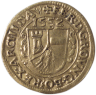 Margrave Leopold III, coin (reverse), 1552