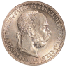 1 krone coin, 1899, with an image of Emperor Franz Joseph