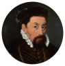 Nicolas Neufchatel (attr.): Emperor Maximilian II (1527-1576) at the age of around forty, oil painting, after…