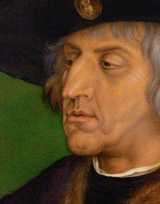 Albrecht Duerer: Emperor Maximilian I, 1519