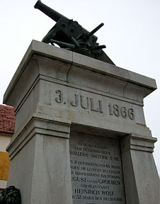 'Battery of the Dead', monument in Gamlitz (Styria), erected in 1914
