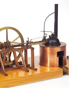 Dampfmaschine von Langreiter, Modell Anfang des 19. Jahrhunderts