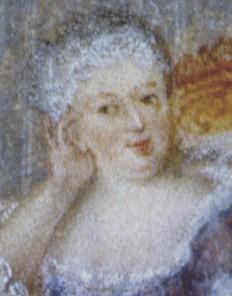 Deutscher Künstler: Kurfürst Friedrich August II. von Sachsen, König von Polen, mit Maria Josepha, um 1750, M…
