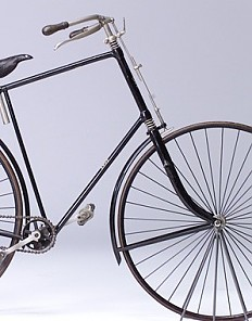 The first small-wheeled bicycle produced in Austria by the Gräf brothers, Vienna 1897-1900