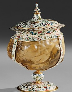 Jan Vermeyen: Covered cup made from a bezoar, c. 1600