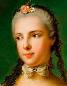 Jean Marc Nattier der Jüngere: Prinzessin Maria Isabella von Parma, Gemahlin von Joseph II., 1758 datiert