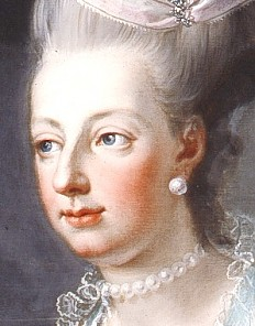 Josef Hauzinger: Marie Antoinette, Erzherzog Maximilian und Ludwig XVI., Öl auf Leinwand, um 1776