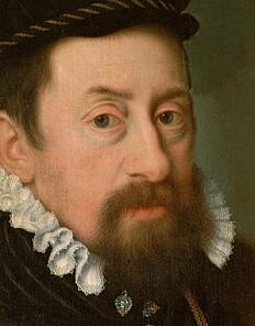 Nicolas Neufchâtel: Kaiser Maximilian II. als etwa Vierzigjähriger, um 1566