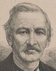Portrait of Gottfried Semper