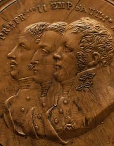 Profildarstellungen vom Wiener Kongress, Schnupftabakdose