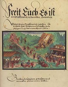 The *Schwazer Bergbuch*, 1556