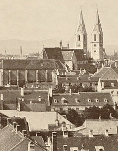 Wiener Neustadt, photograph, 19th century