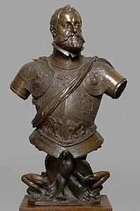 Adriaen de Vries: Bust of Emperor Rudolf II, 1603