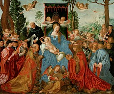 Albrecht Dürer: The Feast of the Rosary