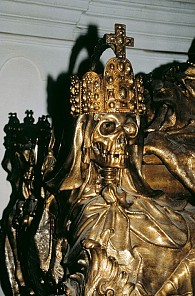A Baroque memento mori - motif from the Imperial Crypt