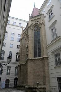 Chorschluss der Burgkapelle