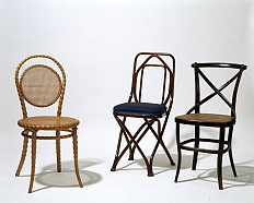 Chairs manufactured by Thonet for display at the Vienna World Exhibition in 1873