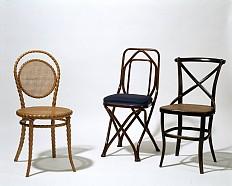 Demonstrationsstühle der Firma Thonet für die Wiener Weltausstellung 1873