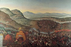 Franz Geffels: The relief of Vienna on 12 September 1683, oil painting