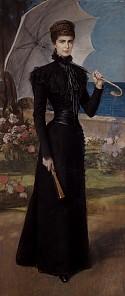 Friedrich August von Kaulbach: Elisabeth on Corfu, pastel on paper, after 1898