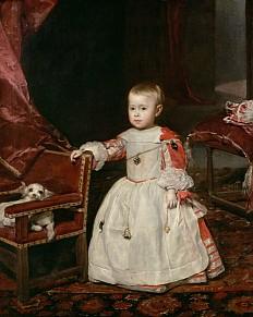 Diego Rodríguez de Silva y Velázquez: Infant Philipp Prosper, Gemälde, 1659