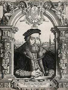 Hanns Sebald Lautensack: Ferdinand I, 1556, copperplate engraving