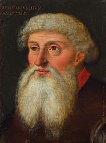 """Herzog Friedrich IV. von Tirol """"mit der leeren Tasche"""", 16. Jahrhundert"""
