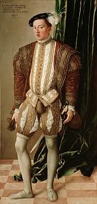 Jakob Seisenegger: Erzherzog Ferdinand von Tirol, 1548