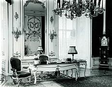 Jens Preusse: Schreibtisch des Bundespräsidenten, historisches Foto