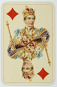 Karokönig der Kaiser-Jubiläumskarten