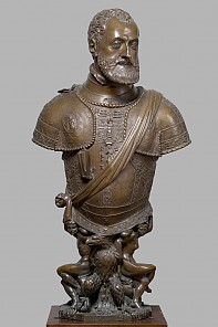 Leone Leoni Arezzo: Bust of Emperor Charles V, c. 1555